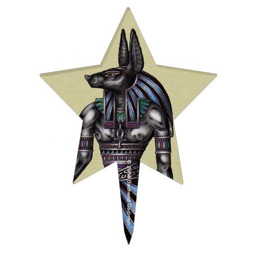 Estrella de la selección de la torta de Anubis Decoraciones De Tartas