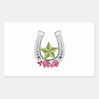 Estrella de la suerte rectangular altavoces