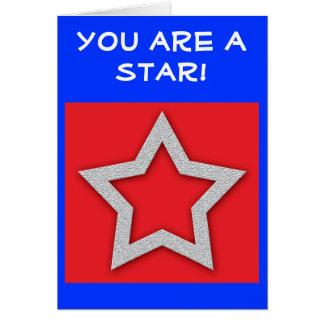 Estrella de la tarjeta