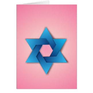 Estrella de la tarjeta de David