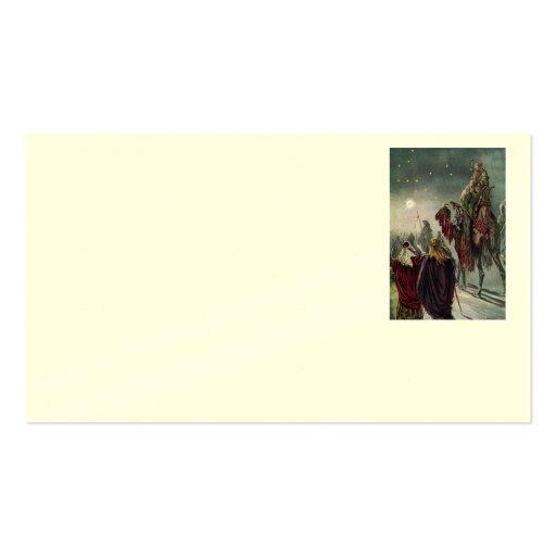 Estrella de la tarjeta de visita de Belén