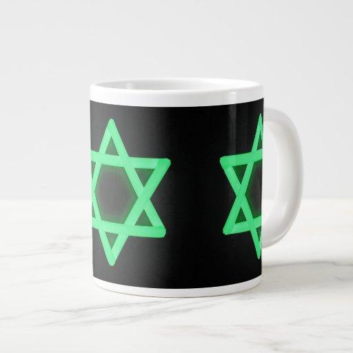 Estrella de la taza de David Taza Grande