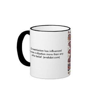 Estrella de la taza de Zoroaster de unos de los