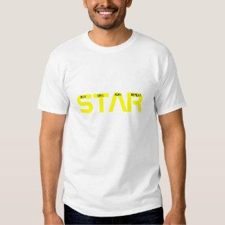 ESTRELLA de la TRAMPA, camiseta del Remeras