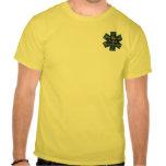 Estrella de la vida - primer respondedor médico camisetas