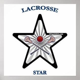 Estrella de LaCrosse Impresiones