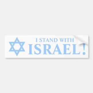 Estrella de las favorables Israel pegatinas para e Etiqueta De Parachoque