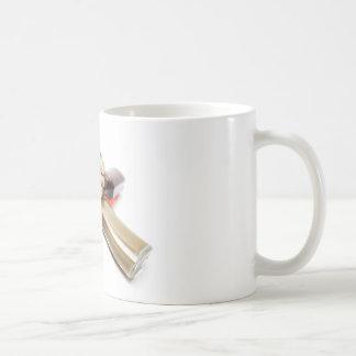 Estrella de las salsas calientes taza de café
