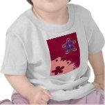 Estrella de levantamiento camisetas