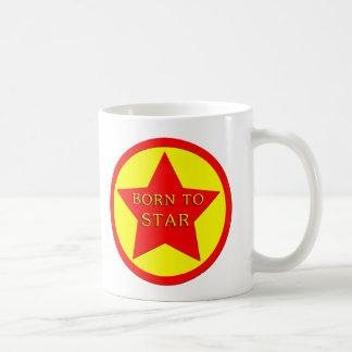 Estrella de levantamiento taza clásica