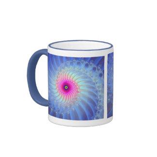 Estrella de levantamiento taza de dos colores