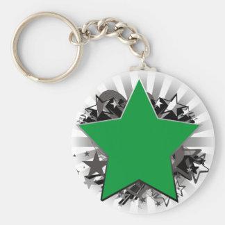 Estrella de Libia Llavero Personalizado