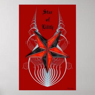 Estrella de Lilith Poster