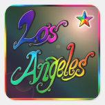 """""""Estrella de Los Ángeles 1"""" pegatina"""