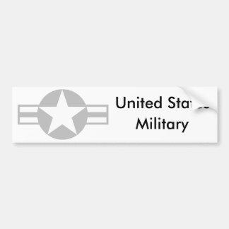 Estrella de los aviones - gris - pegatina para el  pegatina para auto