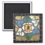Estrella de los corazones del mosaico del ojo de D Iman De Nevera