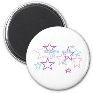 estrella de los daddys imán redondo 5 cm