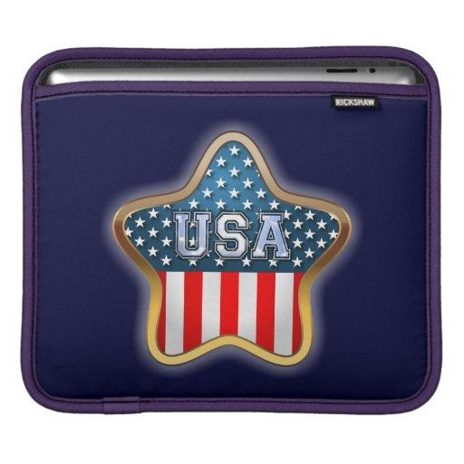 Estrella de los E.E.U.U. Funda Para iPads