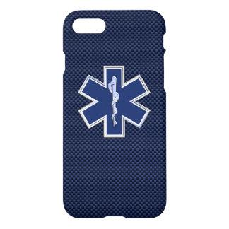 Estrella de los servicios médicos de la emergencia funda para iPhone 7