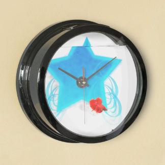 Estrella de lujo del remolino relojes aquavista