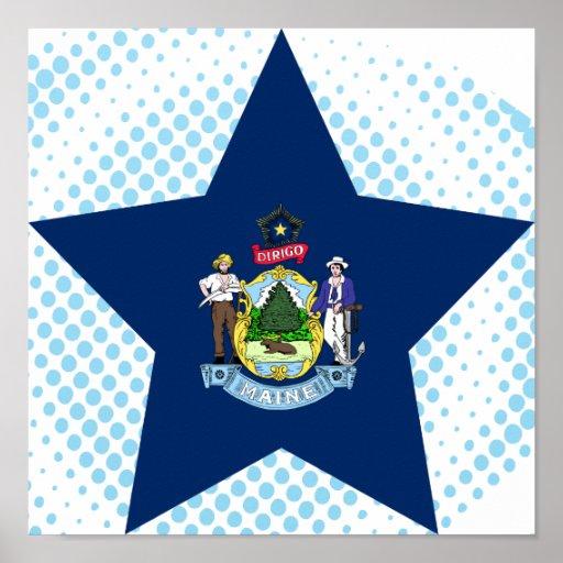 Estrella de Maine Póster