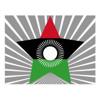 Estrella de Malawi Tarjeta Postal