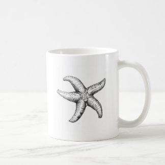 Estrella de mar taza