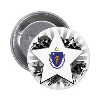 Estrella de Massachusetts Pins