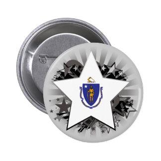 Estrella de Massachusetts Pin