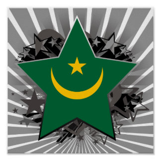 Estrella de Mauritania Posters