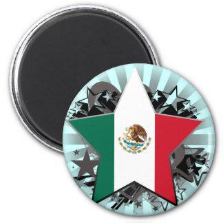 Estrella de México Imán De Frigorifico