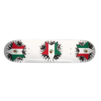Estrella de México Patineta Personalizada
