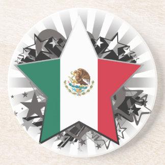 Estrella de México Posavasos Para Bebidas