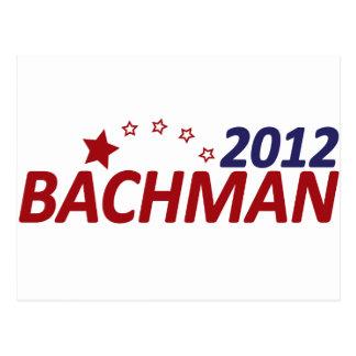 Estrella de Michelle Bachman 2012 Postal