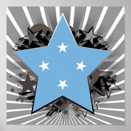 Estrella de Micronesia Posters