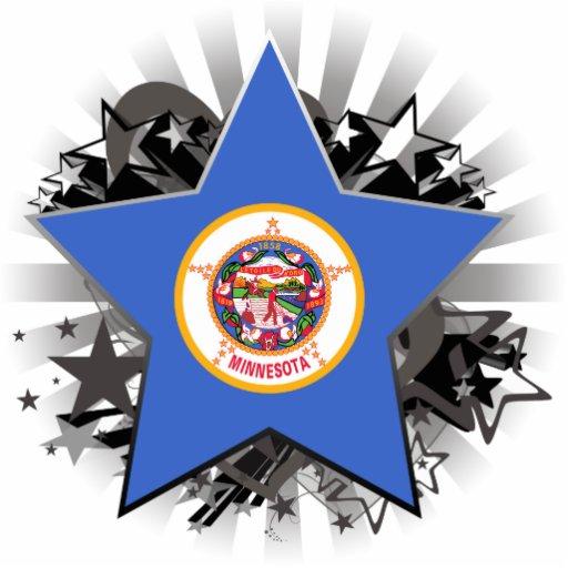 Estrella de Minnesota Escultura Fotografica