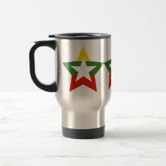 Estrella de Myanmar Tazas