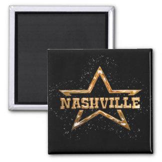 Estrella de Nashville Imán De Frigorifico