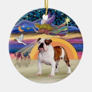 Estrella de Navidad - dogo inglés 5 Ornamento Para Reyes Magos