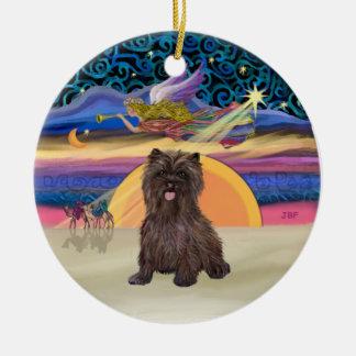 Estrella de Navidad - mojón Terrier Brindle #18 Adorno De Navidad