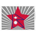 Estrella de Nepal Felicitaciones