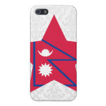 Estrella de Nepal iPhone 5 Carcasas