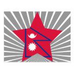 Estrella de Nepal Postales