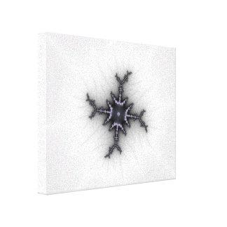 Estrella de neutrón - arte del fractal lona estirada galerías