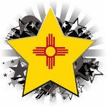 Estrella de New México Escultura Fotográfica