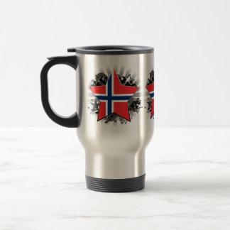 Estrella de Noruega Taza Térmica