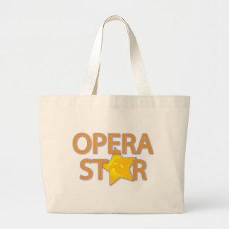 Estrella de ópera bolsas de mano