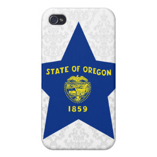 Estrella de Oregon iPhone 4 Carcasa