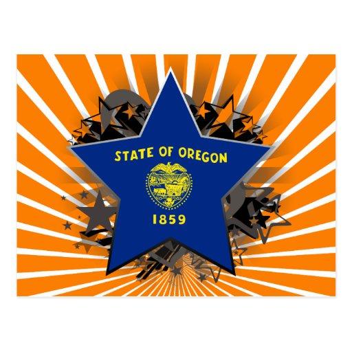 Estrella de Oregon Postales