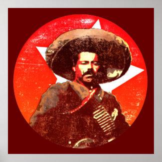 Estrella de Pancho Villa Stuper Posters